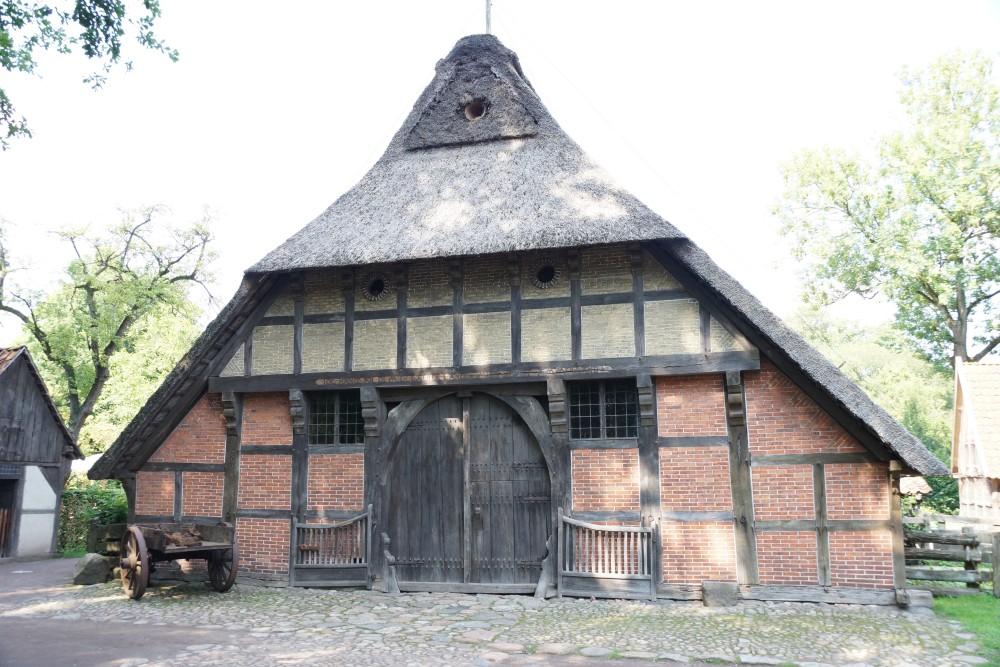 Altes Bauernhaus im Freilichtmuseum Bad Zwischenahn