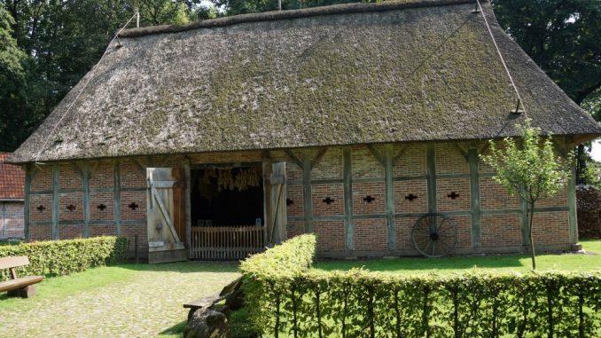 Historisches Gebäude im Museum - Hamaland