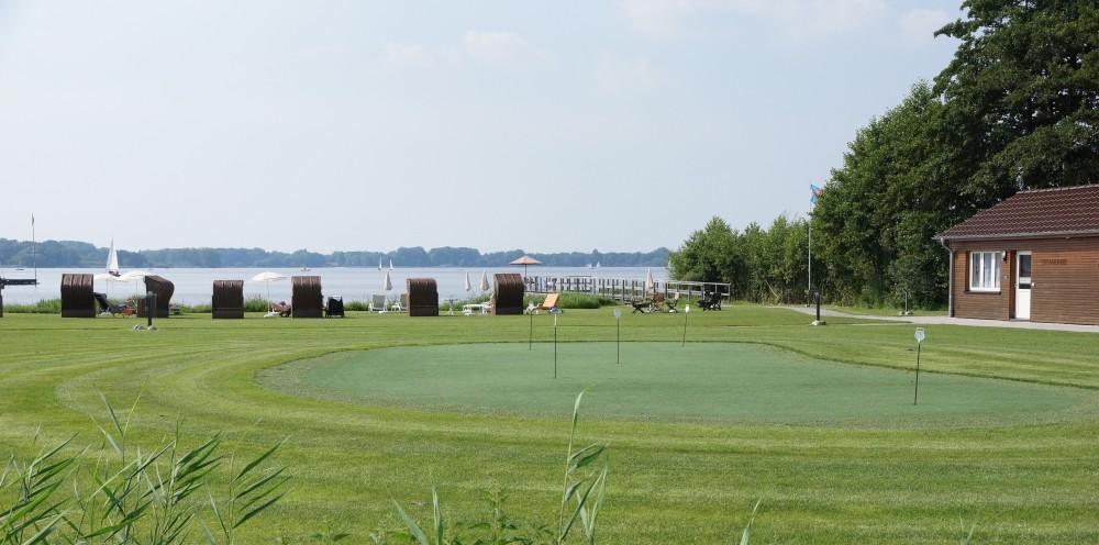 Golfen   Putting Grün Bad Zwischenahn